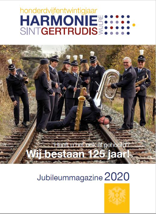 Jubileummagazine 2020 Cover